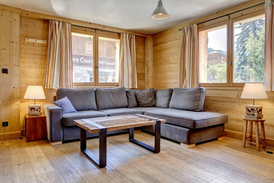 Holiday in mountain resort 4 room duplex chalet 7 people - Chalet la Mélèze - Courchevel