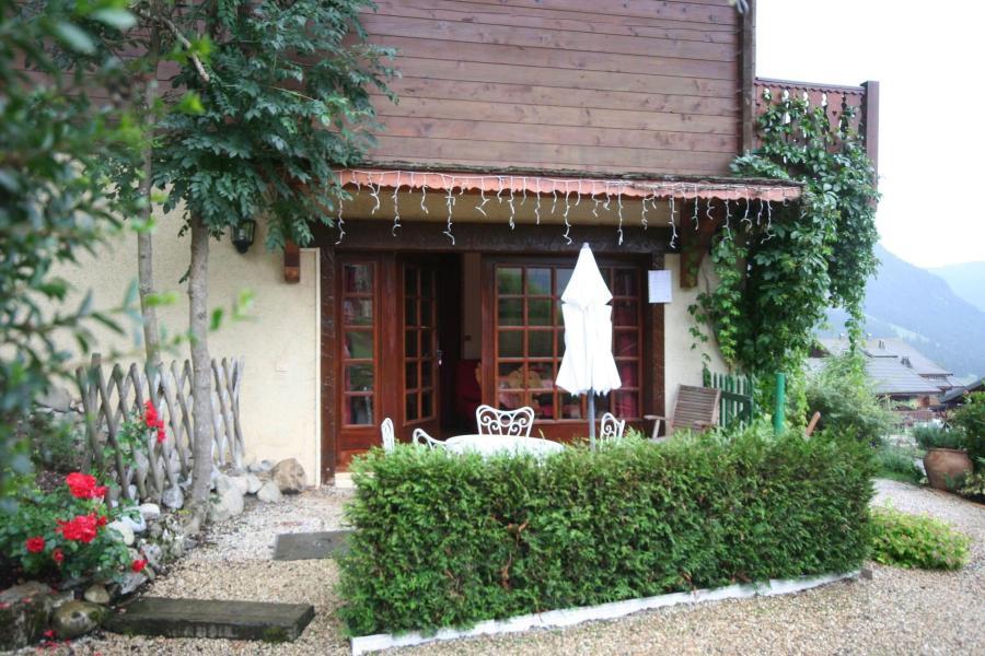 Vacaciones en montaña Apartamento cabina 2 piezas para 5 personas - Chalet la Minaudière - Châtel - Verano