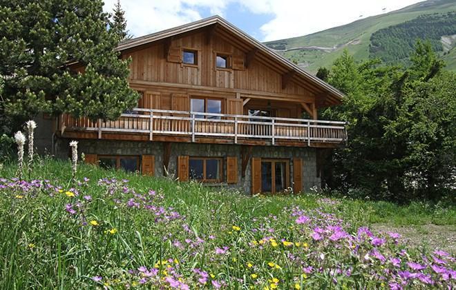 Location au ski Chalet la Muzelle - Les 2 Alpes - Extérieur été