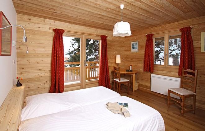Vacances en montagne Chalet la Muzelle - Les 2 Alpes - Chambre