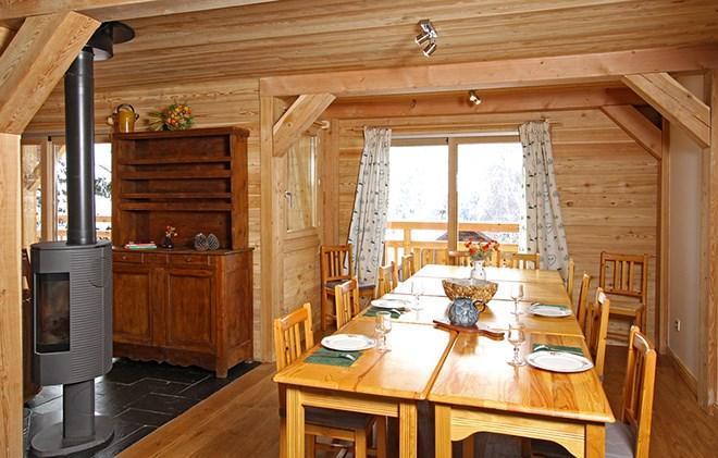 Vacances en montagne Chalet la Muzelle - Les 2 Alpes - Table