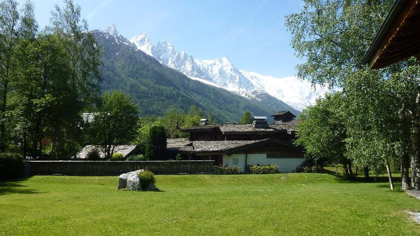 Location au ski Chalet 8 pièces 12 personnes - Chalet La Perseverance - Chamonix - Extérieur été