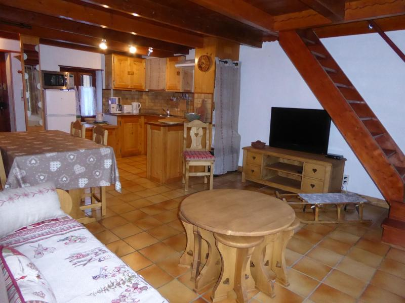 Wakacje w górach Domek górski 3 pokojowy 6 osób - Chalet la Petite Maison - Pralognan-la-Vanoise - Pokój gościnny