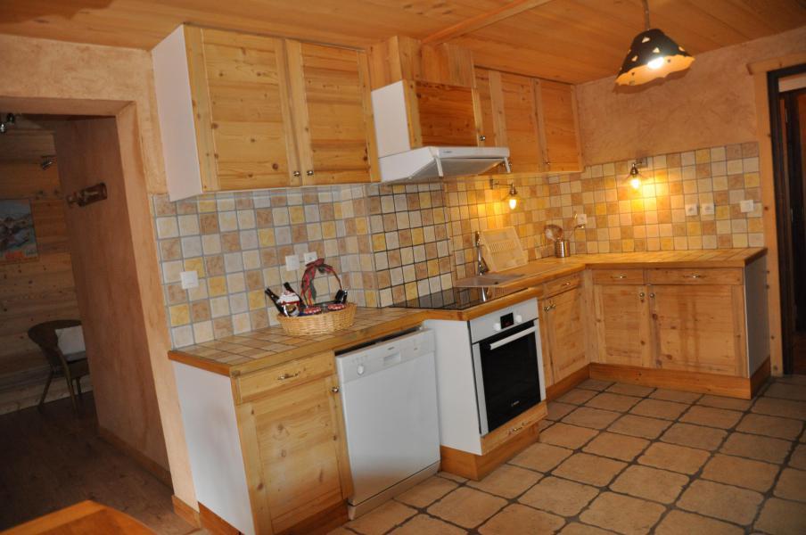 Vacaciones en montaña Apartamento 5 piezas para 7 personas - Chalet la Puce - Châtel - Kitchenette