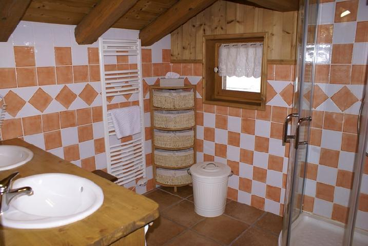 Holiday in mountain resort 5 room duplex chalet 8-10 people - Chalet la Sauvire - Champagny-en-Vanoise - Shower room