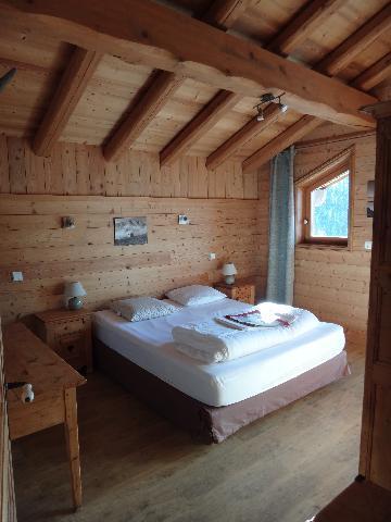 Vakantie in de bergen Chalet duplex 5 kamers 8-10 personen - Chalet la Sauvire - Champagny-en-Vanoise - Zolderkamer