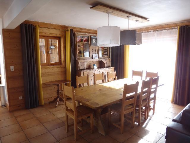 Vacances en montagne Chalet duplex 5 pièces 8-10 personnes - Chalet la Sauvire - Champagny-en-Vanoise - Salle à manger