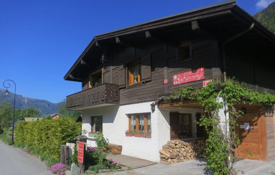 Location au ski Chalet La Taniere - Chamonix - Extérieur été