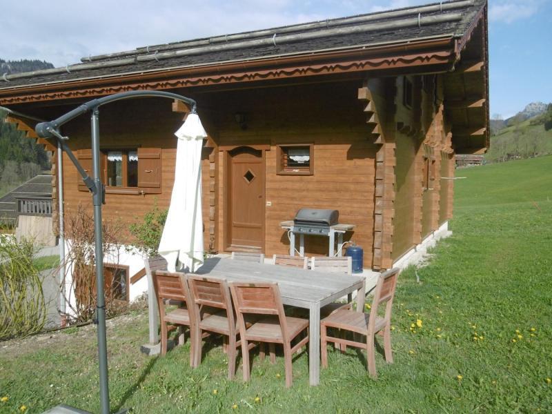 Vacaciones en montaña Chalet 5 piezas para 9 personas - Chalet le Bervonne - Le Grand Bornand - Verano