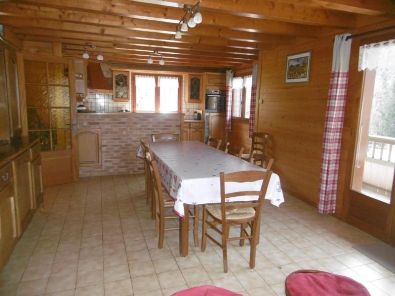 Vacaciones en montaña Chalet 5 piezas para 9 personas - Chalet le Bervonne - Le Grand Bornand - Comedor