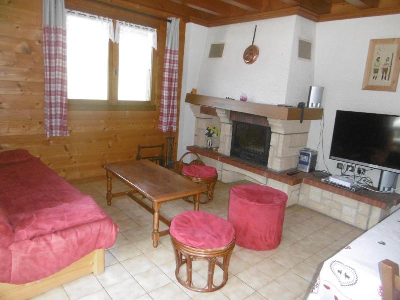 Vacaciones en montaña Chalet 5 piezas para 9 personas - Chalet le Bervonne - Le Grand Bornand - Estancia