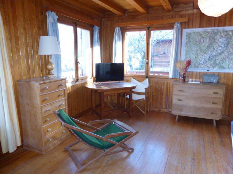 Holiday in mountain resort 6 room triplex chalet 10 people - Chalet le Bon Gîte - Saint Gervais