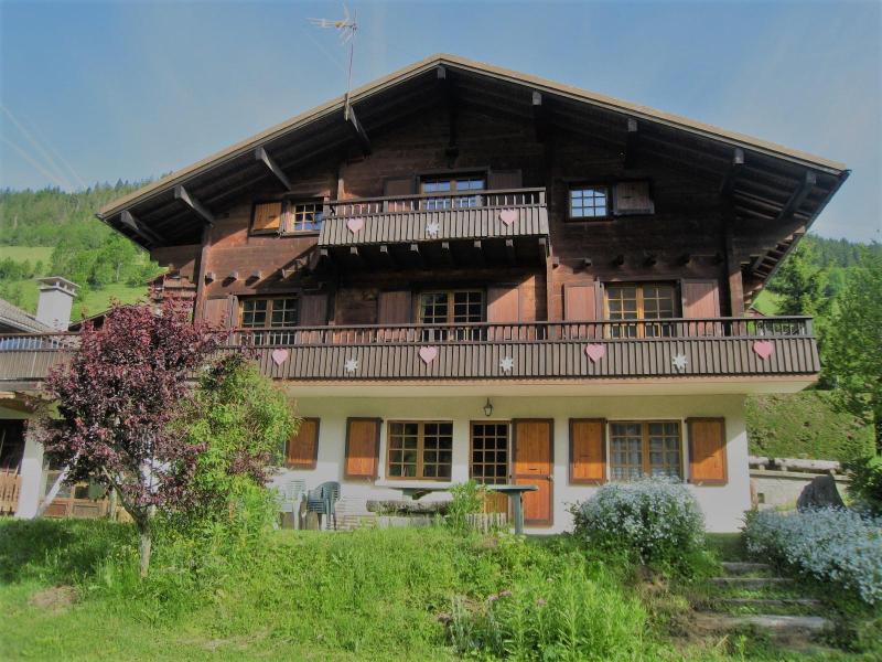 Vacaciones en montaña Apartamento 4 piezas para 8 personas (001) - Chalet le Bris'Orage - Le Grand Bornand - Verano