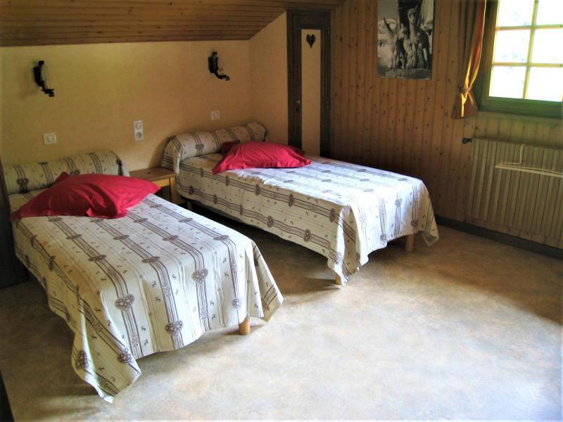 Vacaciones en montaña Apartamento 4 piezas para 8 personas (001) - Chalet le Bris'Orage - Le Grand Bornand - Habitación
