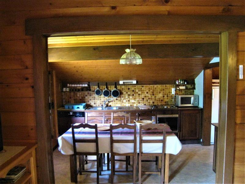 Vacaciones en montaña Apartamento 4 piezas para 8 personas (001) - Chalet le Bris'Orage - Le Grand Bornand - Mesa