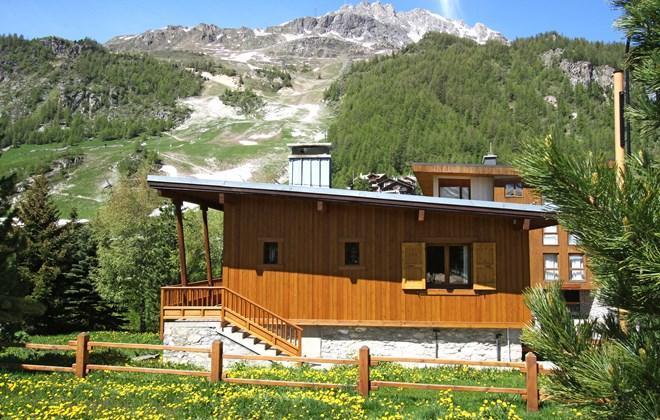 Vacances en montagne Chalet le Cabri - Val d'Isère - Extérieur été