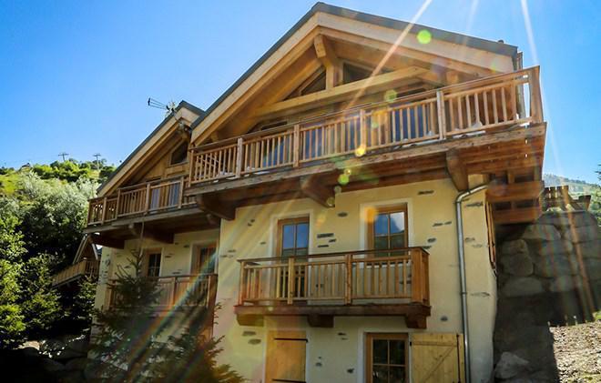 Skiverleih Chalet Le Chabichaz - Valloire - Draußen im Sommer