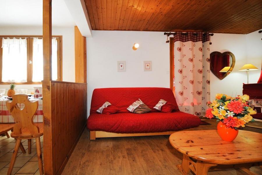 Vacances en montagne Appartement 3 pièces 4-6 personnes - Chalet le Chamois - Les Menuires - Canapé