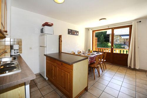 Vakantie in de bergen Appartement 3 kamers 6 personen (2) - Chalet le Cristal - Les Menuires - Woonkamer