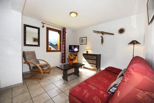 Vacances en montagne Appartement 3 pièces 6 personnes (2) - Chalet le Cristal - Les Menuires - Coin séjour
