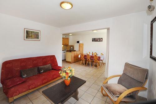 Vacances en montagne Appartement 3 pièces 6 personnes (2) - Chalet le Cristal - Les Menuires - Séjour
