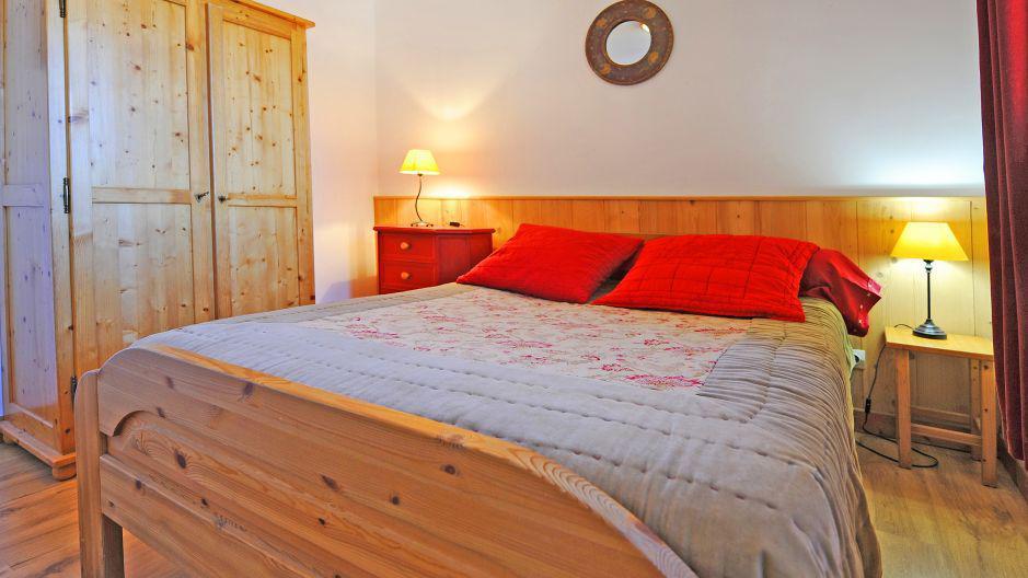 Vacances en montagne Appartement duplex 4 pièces 10 personnes (4) - Chalet le Cristal - Les Menuires - Chambre