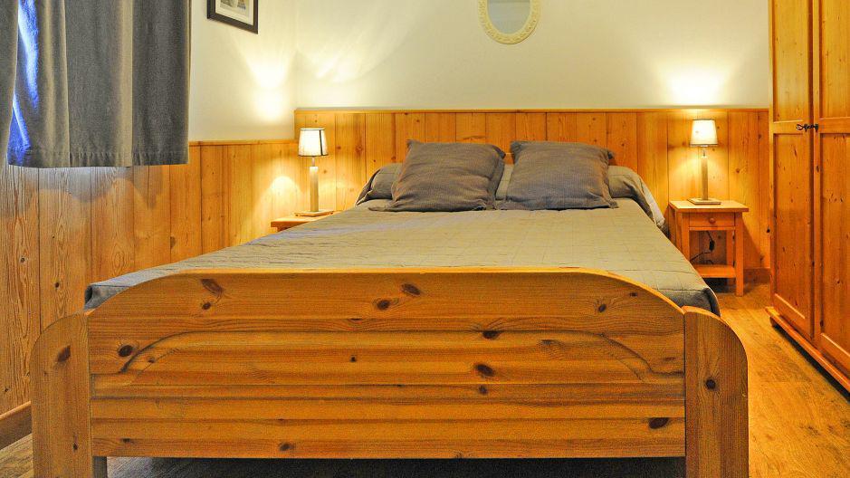 Vacances en montagne Appartement duplex 6 pièces 13 personnes (1) - Chalet le Cristal - Les Menuires - Chambre