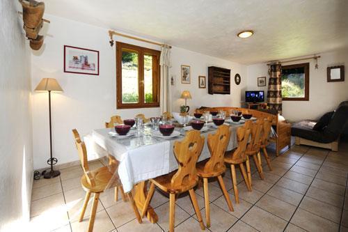 Vacances en montagne Appartement duplex 6 pièces 13 personnes (1) - Chalet le Cristal - Les Menuires - Salle à manger