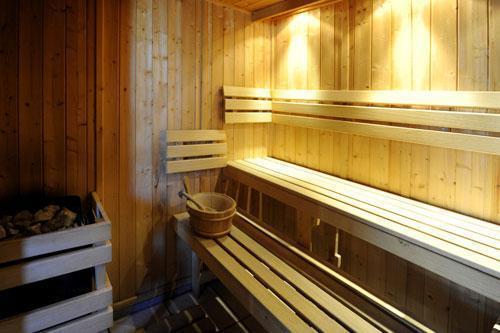 Vacances en montagne Chalet le Cristal - Les Menuires - Sauna