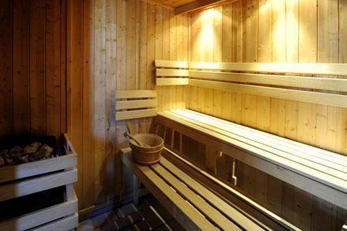 Vakantie in de bergen Chalet le Cristal - Les Menuires - Sauna