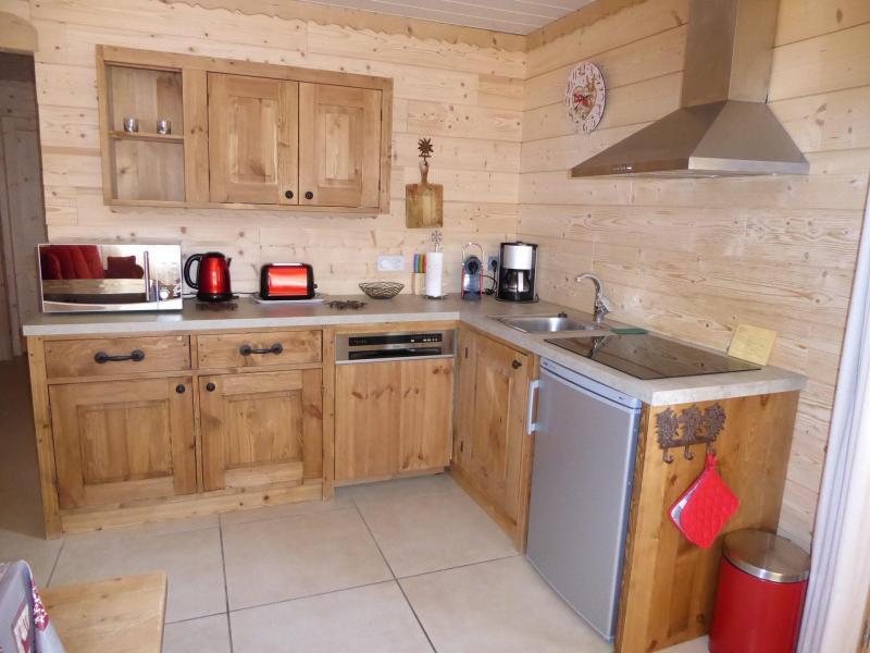 Wakacje w górach Apartament 3 pokojowy 4 osób - Chalet le Flocon - Pralognan-la-Vanoise - Kuchnia