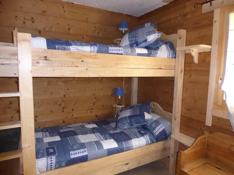 Vacaciones en montaña Apartamento 6 piezas mezzanine para 10 personas - Chalet le Flocon - Pralognan-la-Vanoise - Camas literas