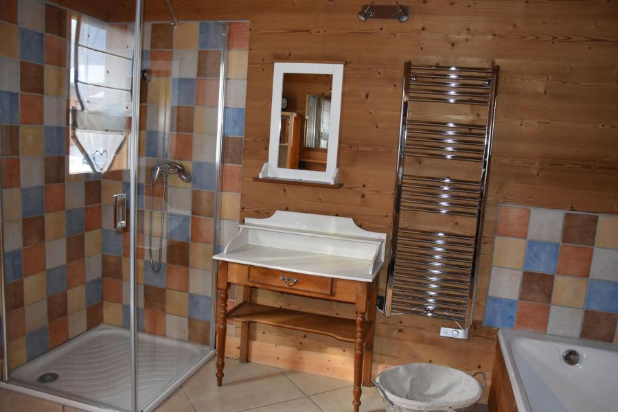 Vacaciones en montaña Apartamento 6 piezas mezzanine para 10 personas - Chalet le Flocon - Pralognan-la-Vanoise - Cuarto de baño con ducha