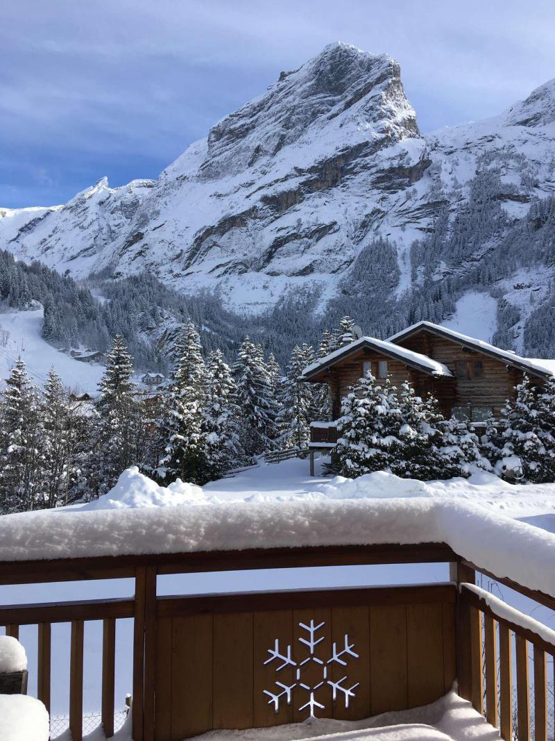 Vacaciones en montaña Apartamento 6 piezas mezzanine para 10 personas - Chalet le Flocon - Pralognan-la-Vanoise - Sofá