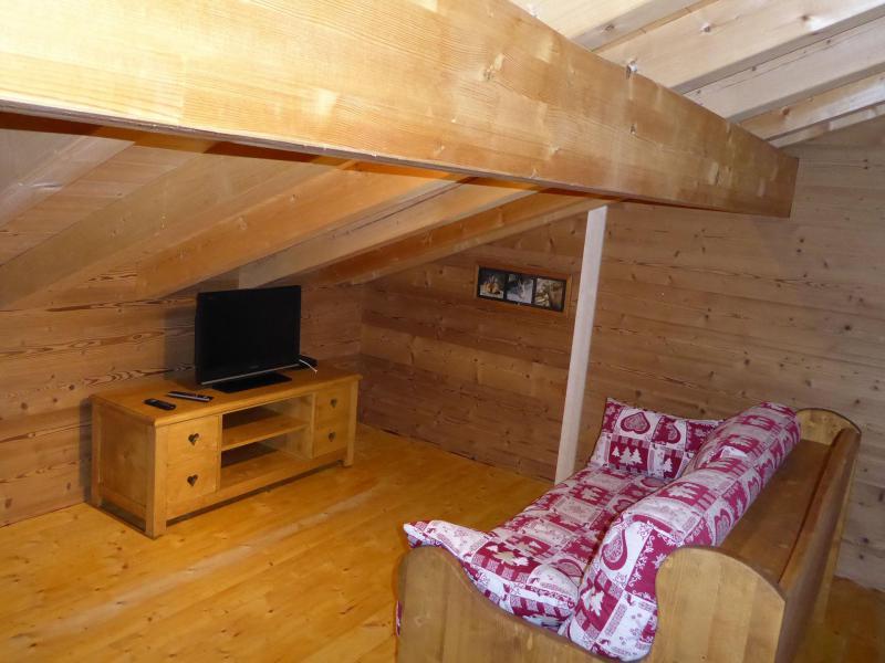 Vacaciones en montaña Apartamento 6 piezas mezzanine para 10 personas - Chalet le Flocon - Pralognan-la-Vanoise - TV