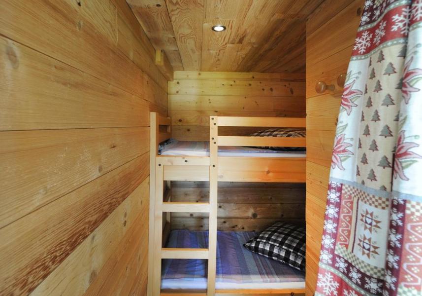 Vacances en montagne Appartement 2 pièces coin montagne 4 personnes - Chalet le Génépi - Les Menuires - Lits superposés