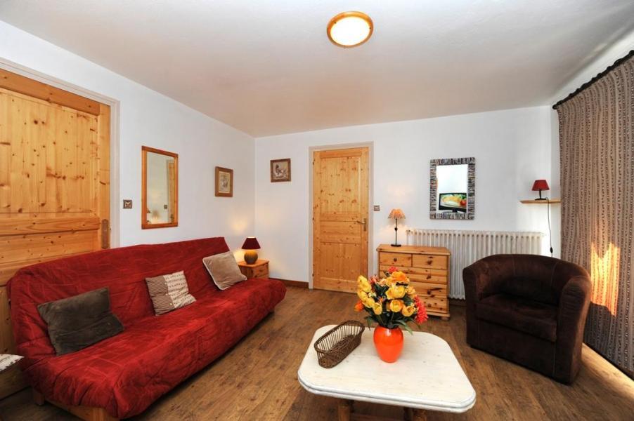 Vacances en montagne Appartement 5 pièces 8 personnes - Chalet le Génépi - Les Menuires - Canapé