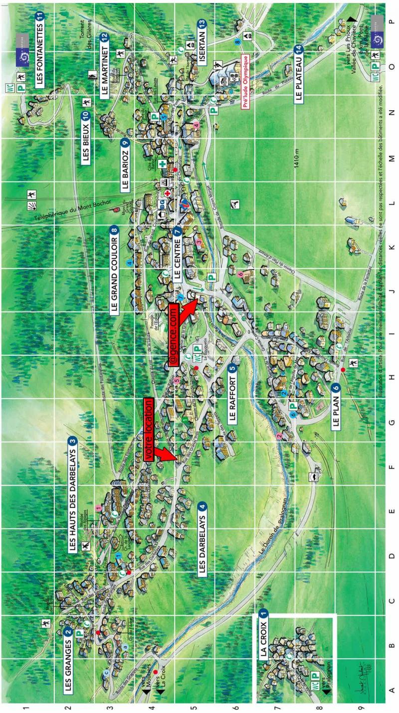 Vacaciones en montaña Chalet le Grand Pré - Pralognan-la-Vanoise - Plano