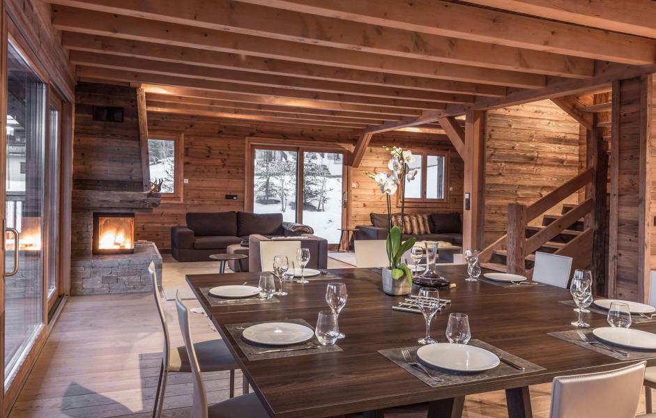Каникулы в горах Chalet Le Grey Fox - Saint Gervais - Столова&