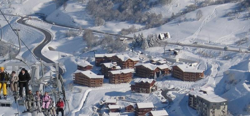 Vacances en montagne Chalet le Hameau des Marmottes - Les Menuires