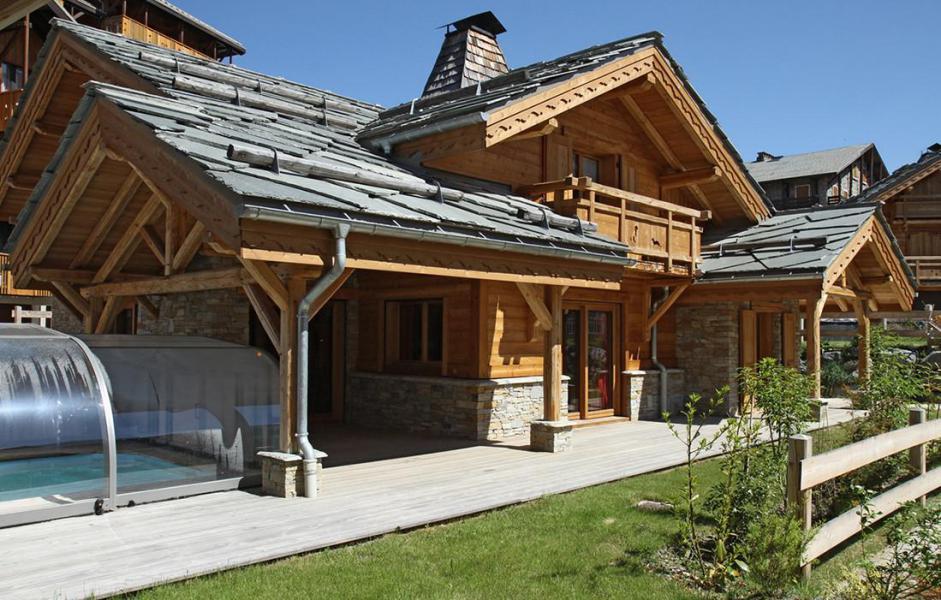 Location au ski Chalet Le Loup Lodge - Les 2 Alpes - Extérieur été