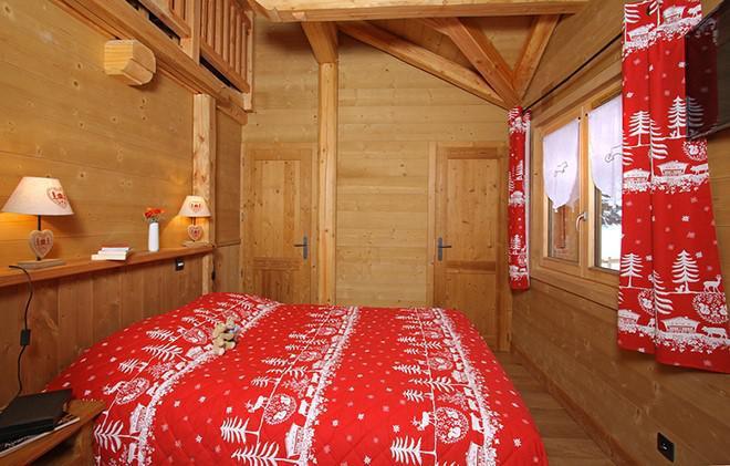 Vacances en montagne Chalet Le Loup Lodge - Les 2 Alpes - Chambre