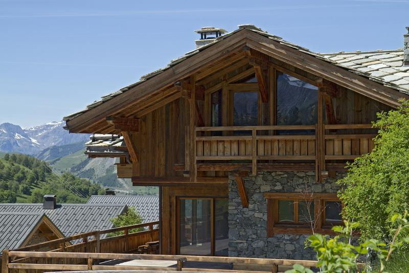 Vacaciones en montaña Chalet le Lys - Les 2 Alpes - Verano