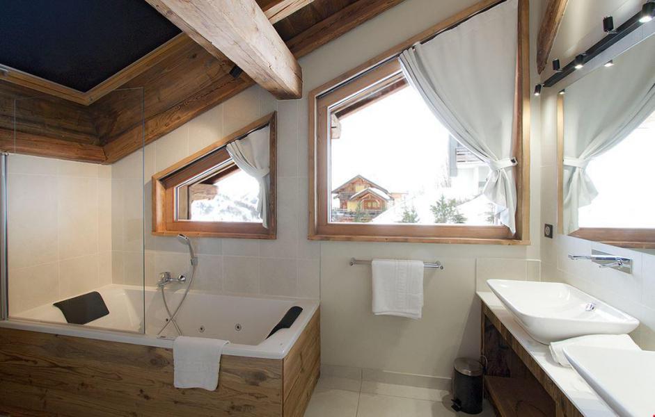 Vacaciones en montaña Chalet le Lys - Les 2 Alpes - Bañera