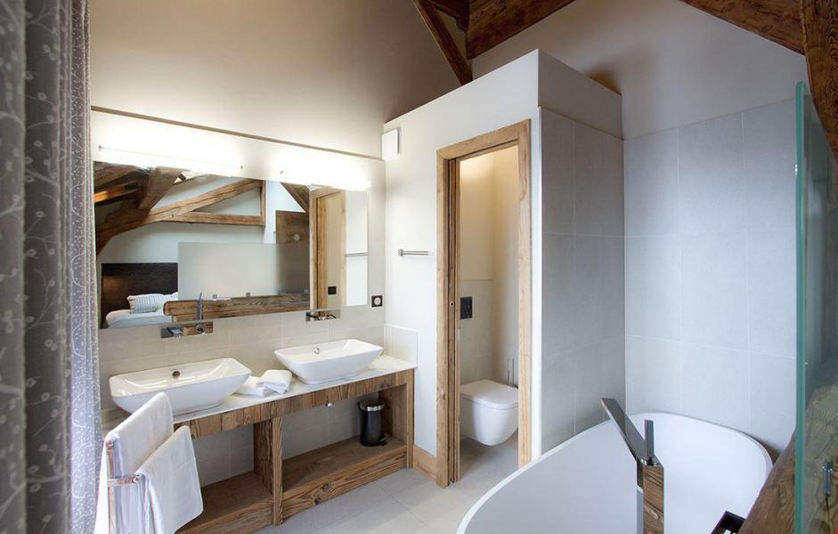 Vacaciones en montaña Chalet le Lys - Les 2 Alpes - Cuarto de baño
