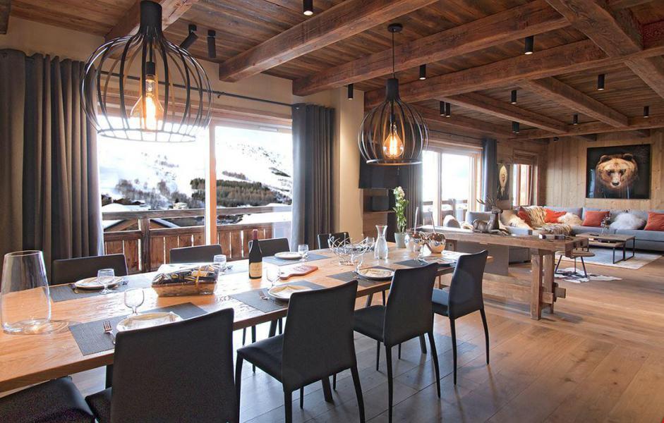 Vacances en montagne Chalet le Lys - Les 2 Alpes - Salle à manger