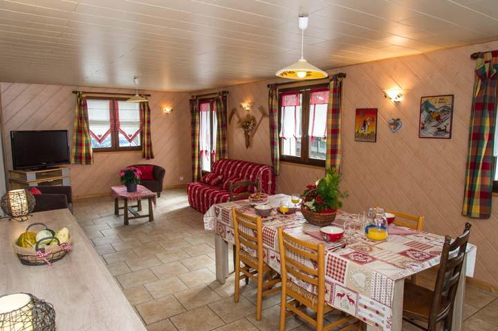 Vacaciones en montaña Apartamento 3 piezas para 6 personas - Chalet le Marmouset - Châtel