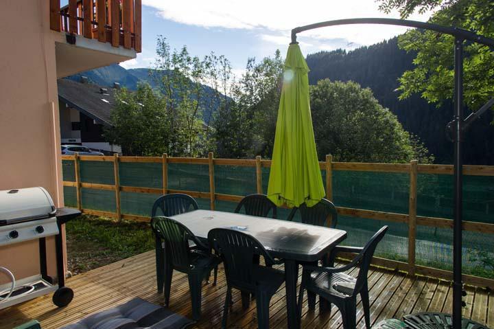 Vacaciones en montaña Apartamento 3 piezas para 6 personas - Chalet le Marmouset - Châtel - Verano