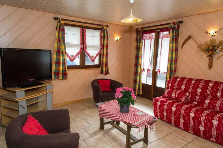 Wakacje w górach Apartament 3 pokojowy 6 osób - Chalet le Marmouset - Châtel - Pokój gościnny
