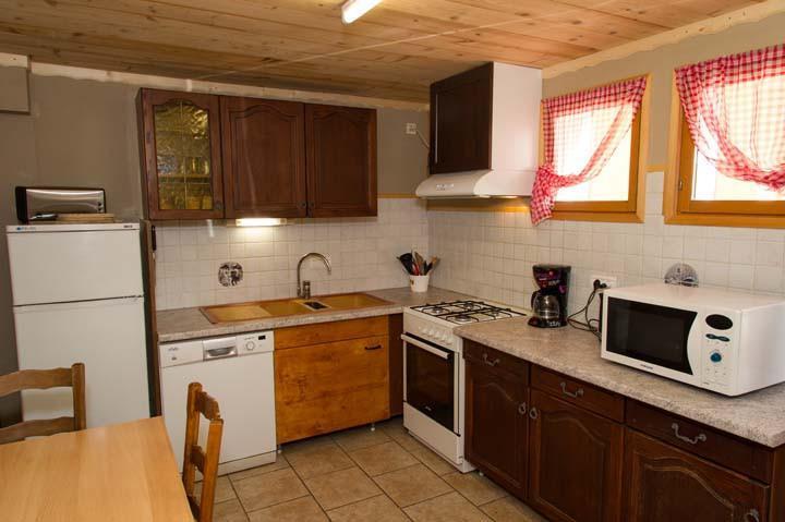Vacaciones en montaña Apartamento 3 piezas para 6 personas - Chalet le Marmouset - Châtel - Kitchenette